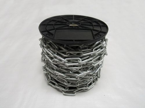 30 Metre Reel 4MM X 19MM Galvanised Straight Link Chain - Barrier Commericial Domestic